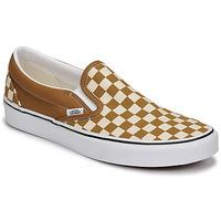 Topánky Muži Slip-on Vans CLASSIC SLIP ON Hnedá / Béžová