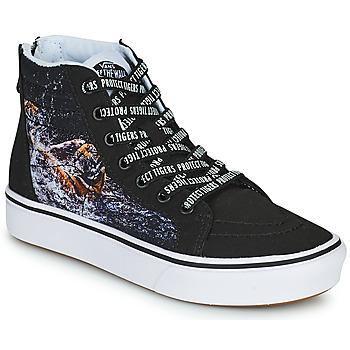 Topánky Chlapci Členkové tenisky Vans SK8-HI Čierna