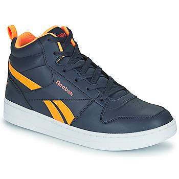 Topánky Deti Členkové tenisky Reebok Classic REEBOK ROYAL PRIME Námornícka modrá / Oranžová