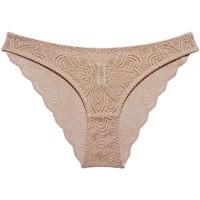 Spodná bielizeň Ženy Klasické nohavičky Underprotection RR1007 LUNA BRIEF NUDE Béžová