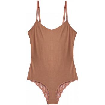 Spodná bielizeň Ženy Body Underprotection BB1018 MIA BODY TAN Béžová