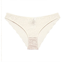 Spodná bielizeň Ženy Klasické nohavičky Underprotection RR1021 LUNA BRIEF OFF WHITE Béžová