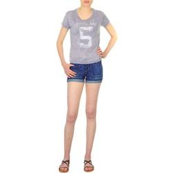 Oblečenie Ženy Šortky a bermudy School Rag SAILOR COMFORT Modrá