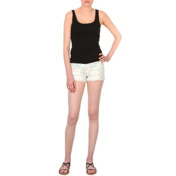Oblečenie Ženy Šortky a bermudy School Rag SELENA FLOWERS Biela / Imprime / Kvetovaná
