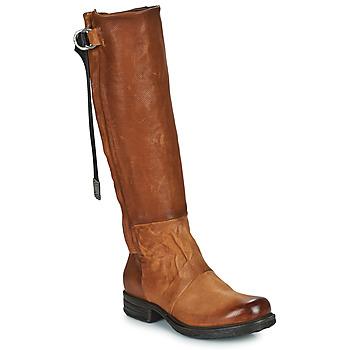 Topánky Ženy Čižmy do mesta Airstep / A.S.98 SAINTEC HIGH Ťavia hnedá