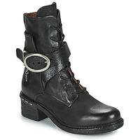 Topánky Ženy Čižmičky Airstep / A.S.98 NOVASUPER LACE Čierna