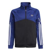 Oblečenie Deti Vrchné bundy adidas Originals SENTIRA Čierna / Námornícka modrá