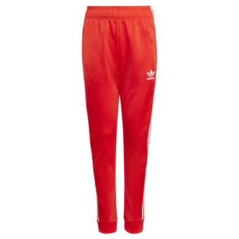 Oblečenie Deti Tepláky a vrchné oblečenie adidas Originals HANA Červená