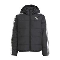 Oblečenie Deti Vyteplené bundy adidas Originals SOLITARE Čierna