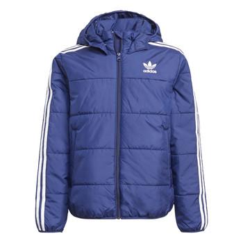 Oblečenie Deti Vyteplené bundy adidas Originals BATTI Námornícka modrá