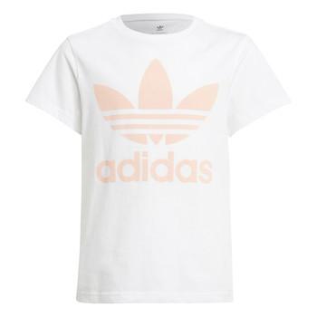 Oblečenie Deti Tričká s krátkym rukávom adidas Originals VAGUO Biela