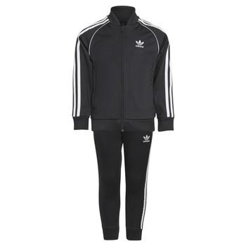 Oblečenie Deti Súpravy vrchného oblečenia adidas Originals RISUER Čierna