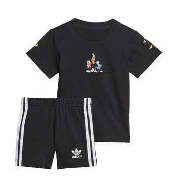 Oblečenie Chlapci Komplety a súpravy adidas Originals COTES Čierna
