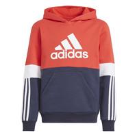 Oblečenie Chlapci Mikiny adidas Performance SOLEDAD Červená / Námornícka modrá