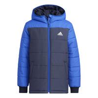 Oblečenie Deti Vyteplené bundy adidas Performance RACHELA Námornícka modrá / Čierna