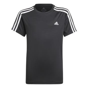 Oblečenie Chlapci Tričká s krátkym rukávom adidas Performance MARIONA Čierna