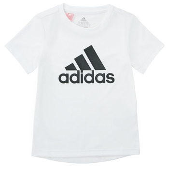 Oblečenie Chlapci Tričká s krátkym rukávom adidas Performance NADEGE Biela