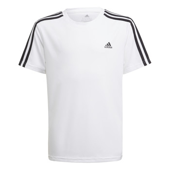 Oblečenie Chlapci Tričká s krátkym rukávom adidas Performance AYMERICA Biela