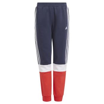 Oblečenie Chlapci Tepláky a vrchné oblečenie adidas Performance ALMANA Námornícka modrá / Červená