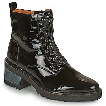 Topánky Ženy Polokozačky Mam'Zelle QUITO Čierna