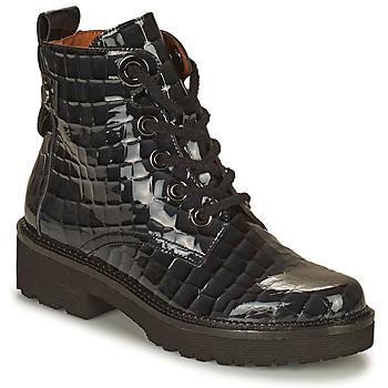 Topánky Ženy Polokozačky Mam'Zelle RANGI Čierna