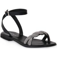 Topánky Ženy Sandále Mosaic NERO SHINE Nero