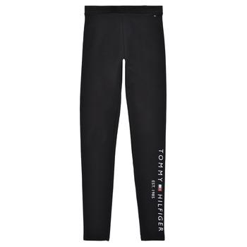 Oblečenie Dievčatá Legíny Tommy Hilfiger MELINDA Čierna