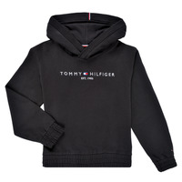 Oblečenie Dievčatá Mikiny Tommy Hilfiger DEMINRA Čierna