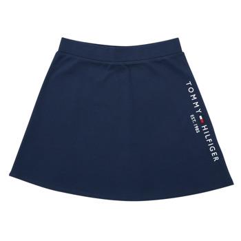 Oblečenie Dievčatá Sukňa Tommy Hilfiger AMELIA Námornícka modrá