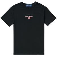 Oblečenie Chlapci Tričká s krátkym rukávom Polo Ralph Lauren ANNITA Čierna