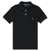 Oblečenie Chlapci Polokošele s krátkym rukávom Polo Ralph Lauren HOULIA Čierna