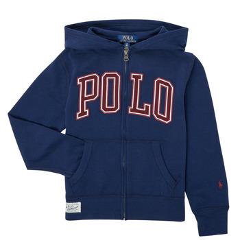 Oblečenie Chlapci Mikiny Polo Ralph Lauren FERINA Námornícka modrá
