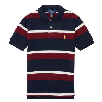 Oblečenie Chlapci Polokošele s krátkym rukávom Polo Ralph Lauren POLLONO Viacfarebná