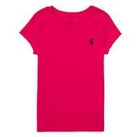 Oblečenie Chlapci Tričká s krátkym rukávom Polo Ralph Lauren ASKIRA Ružová