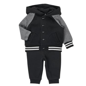 Oblečenie Chlapci Komplety a súpravy Polo Ralph Lauren DENILO Čierna / Šedá