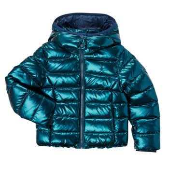 Oblečenie Dievčatá Vyteplené bundy Polo Ralph Lauren AMINAT Námornícka modrá