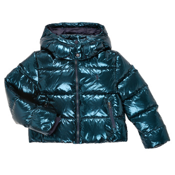 Oblečenie Dievčatá Vyteplené bundy Polo Ralph Lauren TREPIDA Námornícka modrá