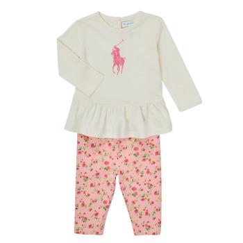 Oblečenie Dievčatá Komplety a súpravy Polo Ralph Lauren FRENNO Viacfarebná