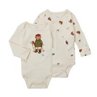 Oblečenie Chlapci Body Polo Ralph Lauren TAKINA Krémová