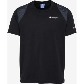 Oblečenie Muži Tričká s krátkym rukávom Champion CAMISETA HOMBRE  KK001 Čierna