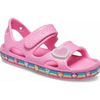 Topánky Deti Sandále Crocs Fun Lab Rainbow Sandal Kids Ružová
