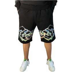 Oblečenie Muži Šortky a bermudy Lotto LTU316 Black