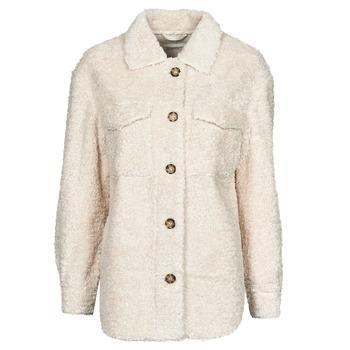 Oblečenie Ženy Kabáty Esprit LL F SHRLG SHKT Béžová