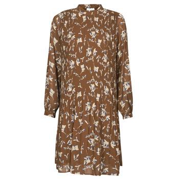 Oblečenie Ženy Krátke šaty Esprit PER CHIFFON PRI Hnedá