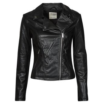 Oblečenie Ženy Kožené bundy a syntetické bundy Esprit PU BIKER Čierna