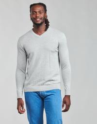 Oblečenie Muži Svetre Esprit F PIMA V-NK Šedá