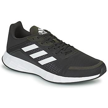 Topánky Muži Bežecká a trailová obuv adidas Performance DURAMO SL Čierna / Biela