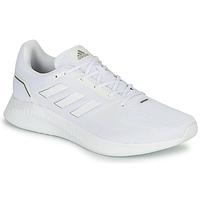 Topánky Muži Bežecká a trailová obuv adidas Performance RUNFALCON 2.0 Biela