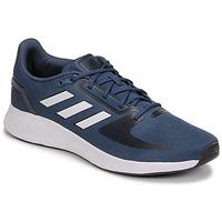 Topánky Muži Bežecká a trailová obuv adidas Performance RUNFALCON 2.0 Námornícka modrá