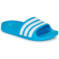 Topánky Deti športové šľapky adidas Performance ADILETTE AQUA K Modrá / Biela
